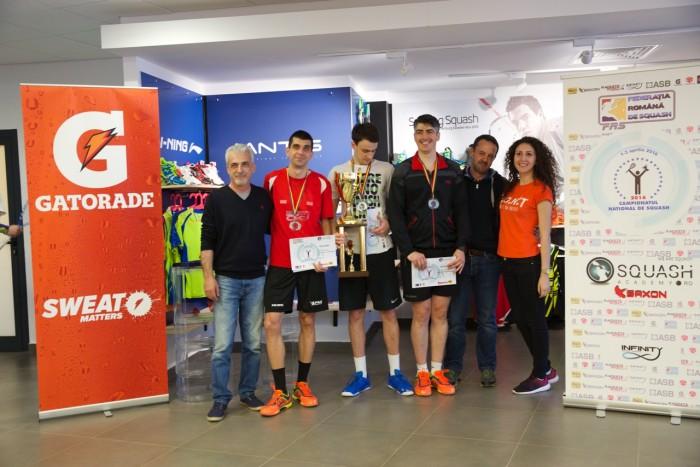 podium divizia A masculin