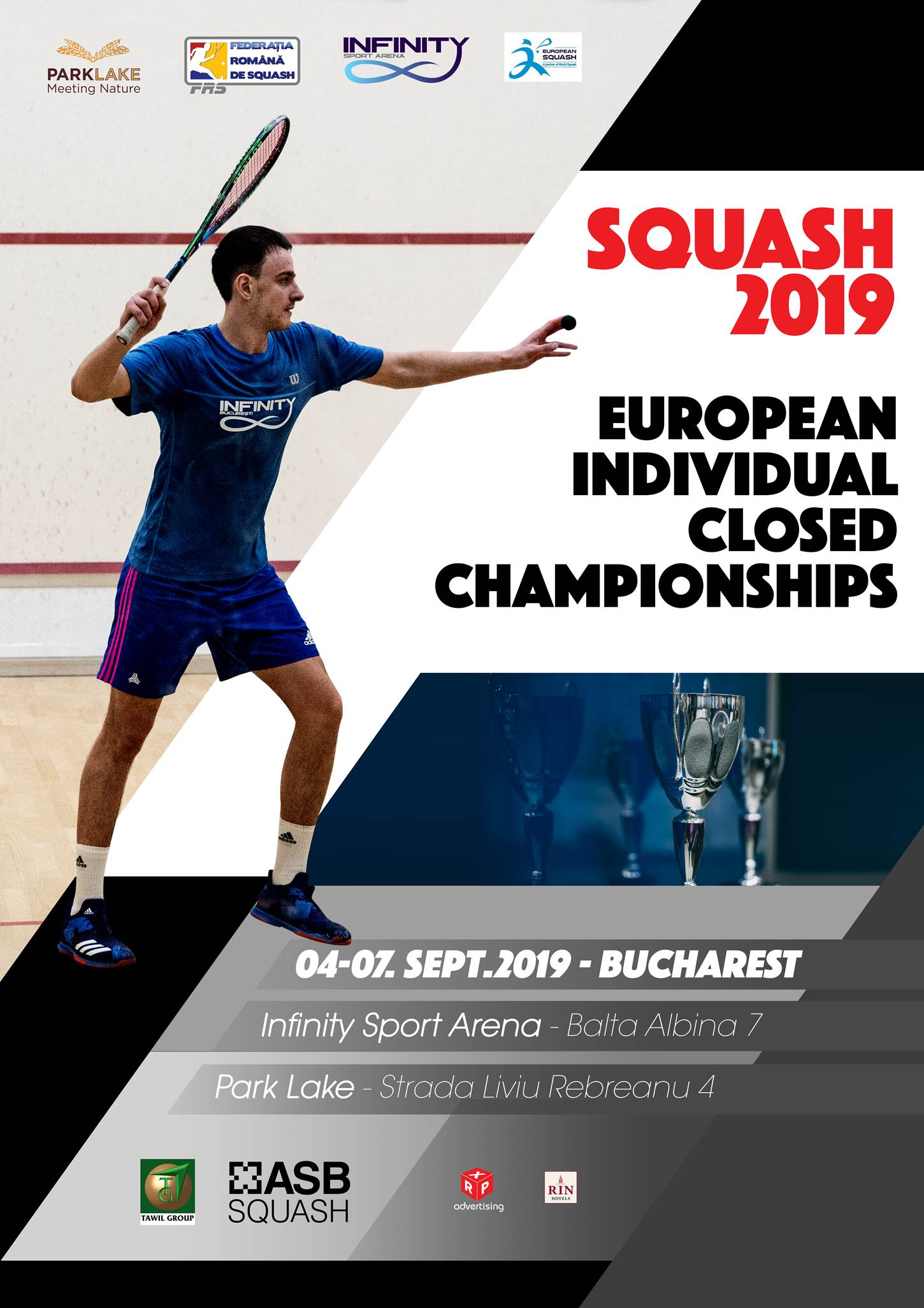 European Individual Closed Championships 2019